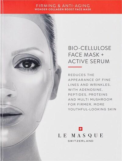 Le Masque Switzerland Maske 'Wonder Collagen Boost  Firming & Anti-Aging' in weiß, Produktansicht
