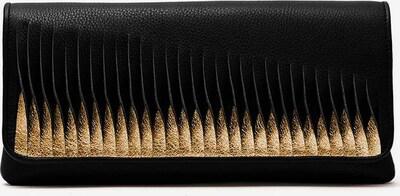 Gretchen Clutch 'Ray' in gold / schwarz, Produktansicht