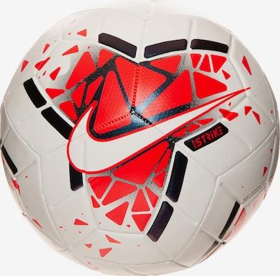NIKE Ball in rot / schwarz / weiß, Produktansicht