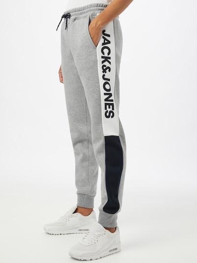 JACK & JONES Spodnie w kolorze szarym, Podgląd na modelu(-ce)