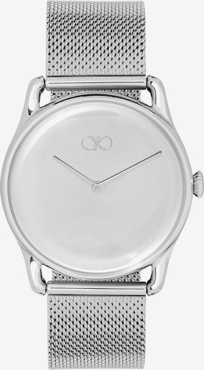 August Berg Analog Watch 'REFLEXION SILVER SILVER MESH 38mm' in Silver, Item view
