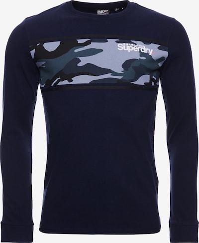 Superdry T-Shirt en marine, Vue avec produit