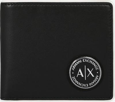 ARMANI EXCHANGE Портмоне в черно / бяло, Преглед на продукта