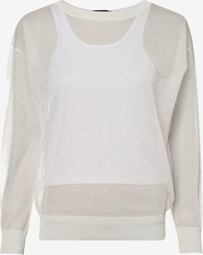 ARMANI EXCHANGE Pullover in creme / weiß, Produktansicht