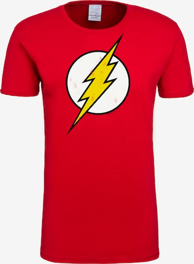 LOGOSHIRT T-Shirt mit coolem 'Flash'-Print in rot: Frontalansicht