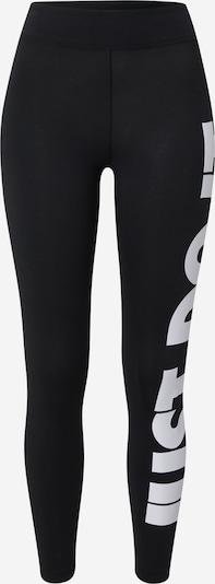 Nike Sportswear Legíny - černá / bílá, Produkt