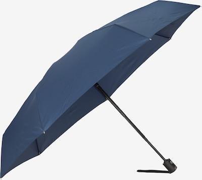 Doppler Regenschirm 'Carbonsteel Magic' in navy, Produktansicht