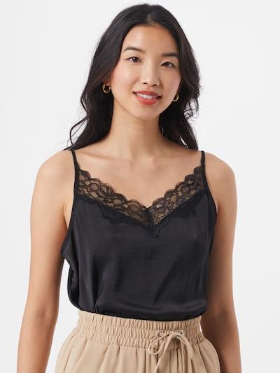 JACQUELINE de YONG Bluse i sort, Modelvisning