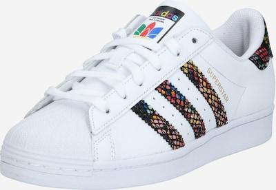ADIDAS ORIGINALS Baskets basses 'Superstar' en mélange de couleurs / blanc, Vue avec produit