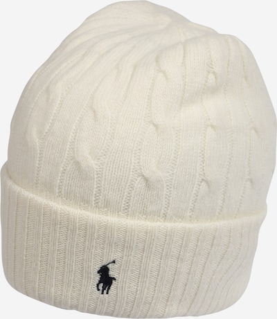 POLO RALPH LAUREN Beanie in cream / black, Item view