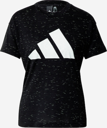 ADIDAS PERFORMANCE Funksjonsskjorte 'Winners 2.0' i svart