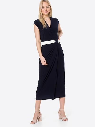 Lauren Ralph Lauren Kleid 'RHIANNAN' in nachtblau / weiß, Modelansicht