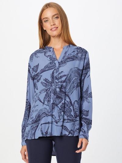 LIEBLINGSSTÜCK Bluse 'Fadia' in rauchblau / dunkelblau, Modelansicht