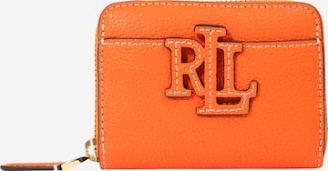 Portofel de la Lauren Ralph Lauren pe portocaliu