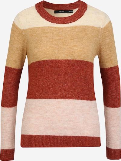 Vero Moda Petite Sweater 'PLAZA' in Beige / Cream / Red, Item view