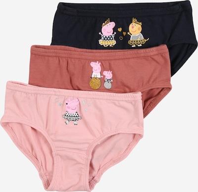 NAME IT Sous-vêtements 'FPeppa Pig' en bleu foncé / rose / rose ancienne, Vue avec produit