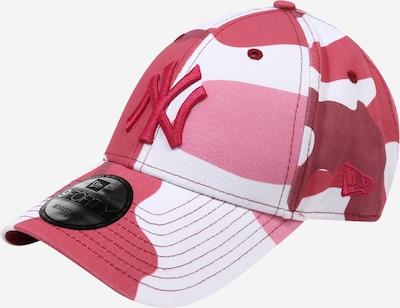 Cappello da baseball NEW ERA di colore rosa / rosa scuro / bianco, Visualizzazione prodotti