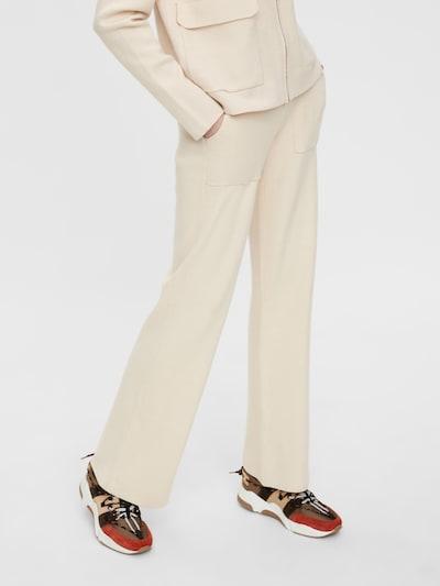 Y.A.S Pantalon en beige, Vue avec modèle