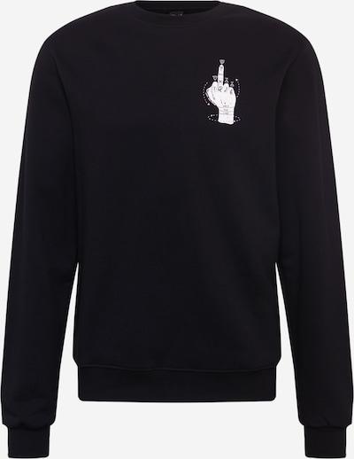 Iriedaily Sportisks džemperis 'Palmistry Crew', krāsa - pelēks / melns / balts, Preces skats