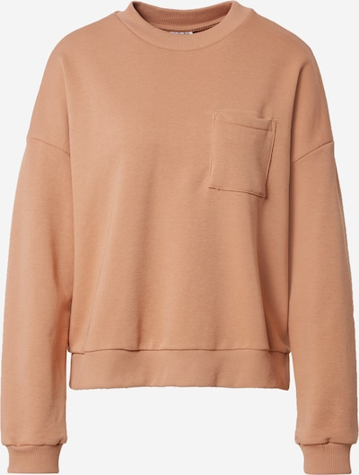 Noisy may Sweat-shirt 'Viggo' en noisette, Vue avec produit