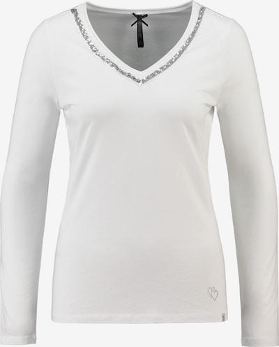 Key Largo Shirt 'MAJA' in silber / weiß, Produktansicht