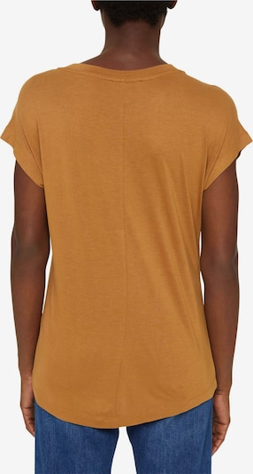 Esprit Collection T-Shirt in braun, Produktansicht