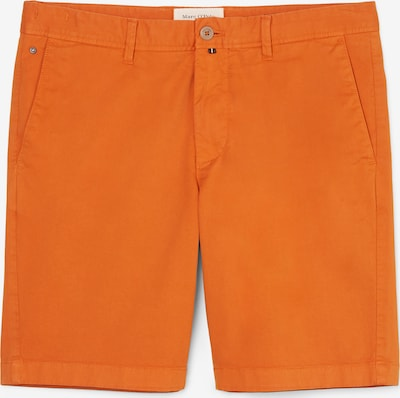 Marc O'Polo Shorts 'VISBY' in hellorange: Frontalansicht