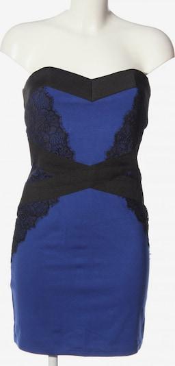 Little Mistress schulterfreies Kleid in L in blau / schwarz, Produktansicht