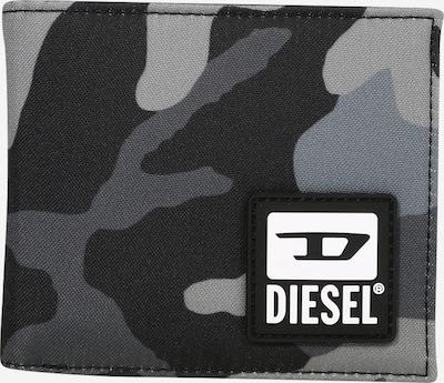 DIESEL Peněženka 'HIRESH' - antracitová / čedičová šedá / kámen / světle šedá, Produkt