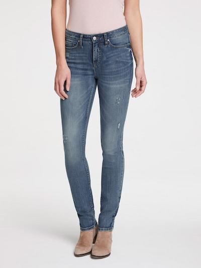 heine Jeans in de kleur Blauw denim: Vooraanzicht