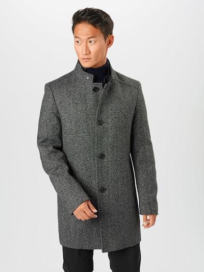 Rudeninis-žieminis paltas iš CINQUE , spalva - margai pilka, Modelio vaizdas
