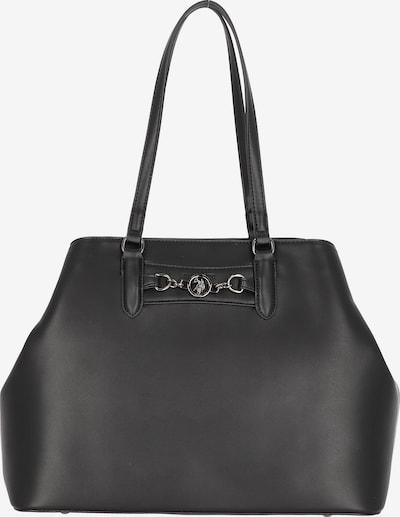 U.S. Polo Assn. Shopper in schwarz, Produktansicht
