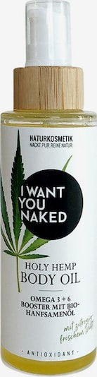 I Want You Naked Body Lotion 'Holy Hemp' in Gold, Item view