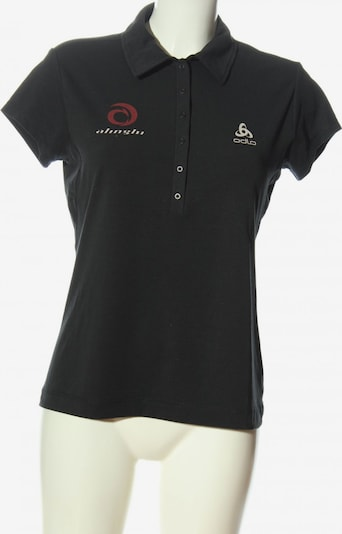 ODLO Polo-Shirt in M in braun / schwarz / weiß, Produktansicht