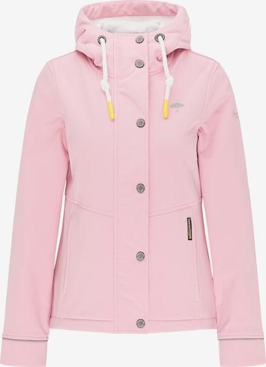 Schmuddelwedda Functionele jas in de kleur Grijs / Lichtroze, Productweergave
