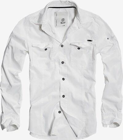 Brandit Hemd in weiß, Produktansicht