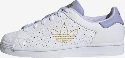 ADIDAS ORIGINALS Baskets basses 'Superstar' en violet / blanc, Vue avec produit