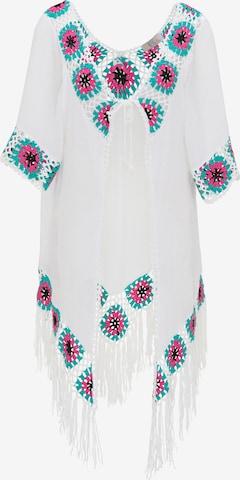 Kimono IZIA en blanc