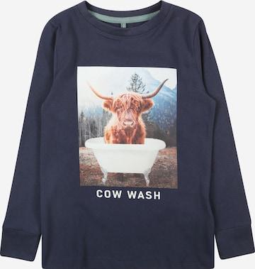 T-Shirt The New en bleu