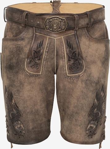 SPIETH & WENSKY Traditional Pants 'Peru' in Brown