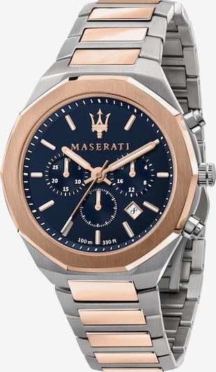 Maserati Analoog horloge 'Stile' in de kleur Rose-goud / Zwart / Zilver, Productweergave