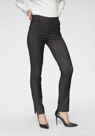 Navigazione Bequeme Stretchhose in Kurzform in schwarz, Modelansicht