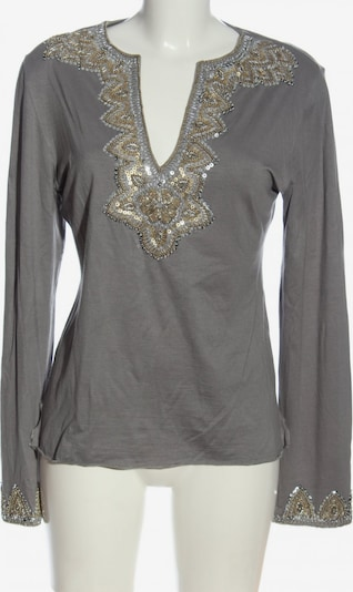 Amor & Psyche Langarm-Bluse in XL in hellgrau, Produktansicht