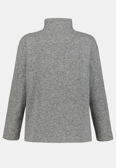 Ulla Popken Ulla Popken Damen große Größen Oversized-Pullover 725955 in graumeliert, Produktansicht