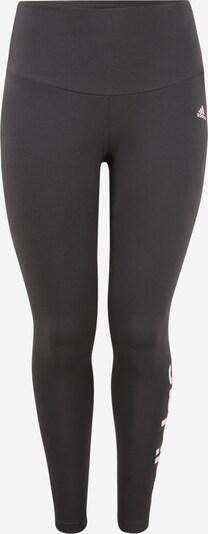 ADIDAS PERFORMANCE Pantalon de sport en gris foncé / rose pastel, Vue avec produit