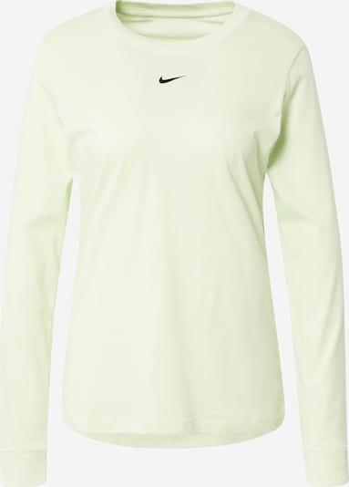 Nike Sportswear Shirts i kiwi / sort, Produktvisning