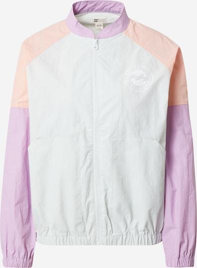 BILLABONG Jacke 'WHIRLWIND' in azur / helllila / pastellorange, Produktansicht
