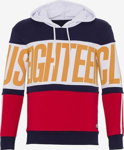 PLUS EIGHTEEN Sweatshirt in de kleur Marine / Geel / Rood / Wit, Productweergave