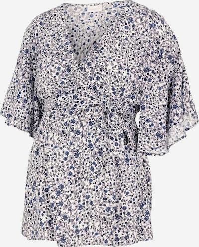 MAMALICIOUS Shirt in blau / weiß, Produktansicht