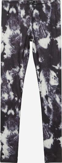 NAME IT Leggings en gris / noir / blanc, Vue avec produit